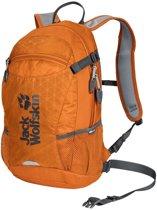 Jack Wolfskin Velocity 12 Backpack - Unisex - Orange Grid - ONE SIZE