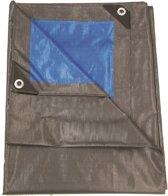 Talen Tools dekzeil 4x5 m grijs groen - 210gr/m2 – professioneel extra dik