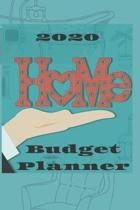2020 Home budget planner: Budget planner with category and spending tracker, expenses records, goal setting management. Monthly overviews with w