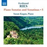 Ries: Piano Sonatas Vol.5