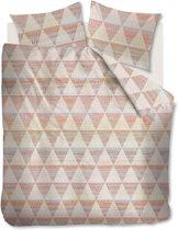 Beddinghouse Torres -  Dekbedovertrek - Lits-jumeaux - 240x200/220 cm + 2 kussenslopen 60x70 cm - Koraal
