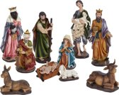 Nampook kerststallen Kerstgroep - 10 delig xl