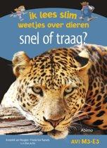 Ik lees slim : weetjes over dieren - Snel of traag?