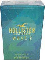 Hollister - Eau de toilette - Wave 2 for him - 100 ml