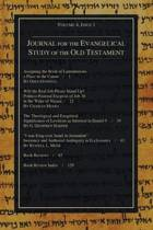 Journal for the Evangelical Study of the Old Testament, 4.1