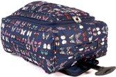 Top Lite VLINDERS Reistas Trolley Koffer Handbagage Navy Blauw Butterfly