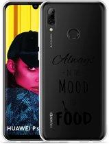 Huawei P Smart 2019 Hoesje Mood for Food Black