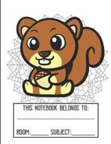 Class Mandala Coloring Cover Notebook