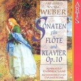 Von Weber: Sonaten Fur Flote & Klav