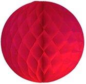 Honeycomb / Pompom - Rood - 30 centimeter