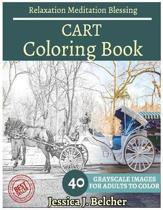 Cart Coloring Book for Adults Relaxation Meditation Blessing