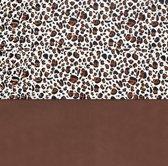 Laken 120x150cm Leopard natural
