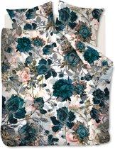 Beddinghouse Moos - Dekbedovertrek - Tweepersoons - 200x200/220 cm - Blauw Groen