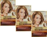 L'Oréal Paris Excellence Age Perfect 6.03 -Donker Goudblond - Haarverf - 3 Stuks Voordeelverpakking