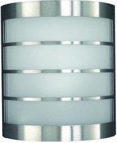 Massive  Calgary - Wandlamp - 1 Lichtpunt - RVS - 1 x 735lm