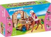 Playmobil Shagya Arabier met paardenbox - 5518