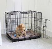Adori Hondenbench - Zwart - XL - 107 x 71 x 77 cm