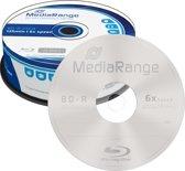 MediaRange MR514 Lees/schrijf blu-ray disc BD-R 25 GB 25 stuk(s)