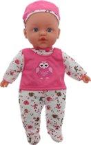 Babypop Sophie Met Geluid 40cm | Babay Doll Sophie | Diverse Varianten