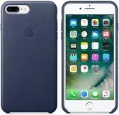 Apple Lederen Back Cover voor iPhone 7/8 Plus - Blauw