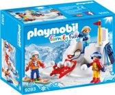 PLAYMOBIL Sneeuwballengevecht  - 9283