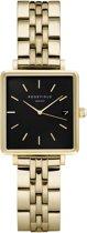 Rosefield The Boxy Xs Dames Horloge - Goud Ø22 X 24mm - QMBG-Q025