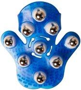 Flowee Massagehandschoen | Massage handschoen - Blauw - Inclusief Cadeauverpakking