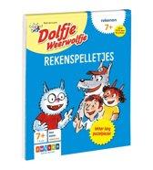 Boekomslag van 'Dolfje Weerwolfje - Rekenspelletjes 7+'