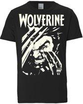 Logoshirt T-Shirt Wolverine