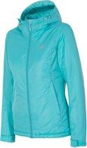 4F Women's Ski Jacket H4Z17-KUDN001TURQS, Vrouwen, Turkusowy, Sportjas maat: L