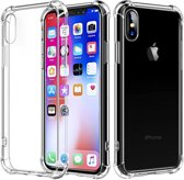 Atouchbo - Back Cover voor Apple iPhone X / Xs - TPU - Anti Shock - Transparant