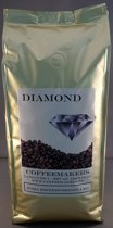 Diamond espressobonen Roma, 8x1000 gram