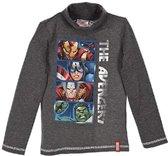 Marvel Avengers - Kinder/ kleuter - shirt - met col - grijs - maat 134/140