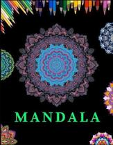 Mandala: Coloring Book for Adults with Fun, Easy, and Relaxing Mandala Designs ( 8.5 X 11 Inches)