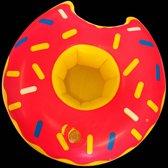 Opblaas donut bekerhouder, inflatables  - 6 stuks