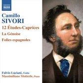 Fulvio / Massimiliano Mott Luciani - Sivori; 12 Etudes Caprices Op. 25