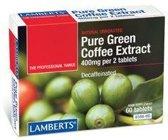 Lamberts Green Coffee Extract 400 mg - 60 Tabletten - Voedingssupplement