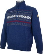 Campagnolo Knitted Pullover  Sporttrui - Maat XL  - Mannen - blauw/grijs/wit/rood