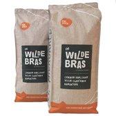 2 x De Wildebras 1.000 gram Arabica koffiebonen | Ethiopië