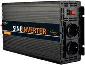 EnRise 12V-230V Zuivere Sinus Omvormer - 1000W/2000W