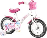 Giggles Fiets Wit - 12 inch