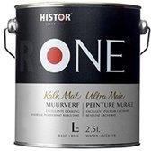 One Muurverf Kalkmat - 2,5 Liter