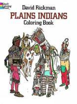 Plains Indians Colouring Book