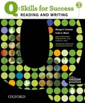 Q: Skills for Success- Reading and Writing 3 student book + online practice
