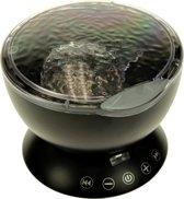 Ocean Projector Pot - met Afstandsbediening - Zwart