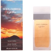 Dolce & Gabbana Light Blue Sunset In Salina Pour Femme EDT 100 ml