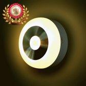 Nachtlampje-Led met-Bewegingssensor-Automatische-Verlichting-Veilig voor Babykamer-Toilet-Overloop-Trap-Senioren