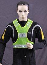Safeways HiViz 6 LED reflecterend Runner veiligheidsvest EN13356