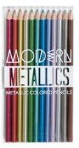 Ooly - Moderne Metallic kleurpotloden