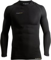Knapman UltraThin Compressieshirt (lange mouwen) zwart - maat S